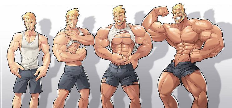 Правильный набор мышечной массы