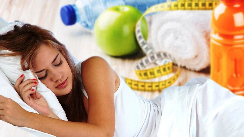 Недостаток сна и похудение