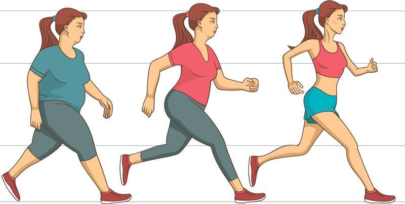 Бег для похудения: десять правил