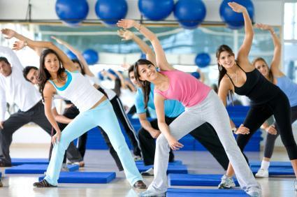 Аэробика — комплексы упражнений