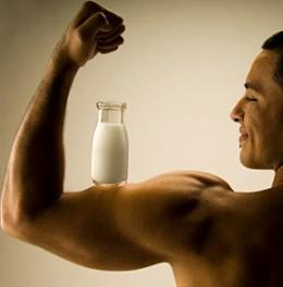 Молоко и мышечная масса