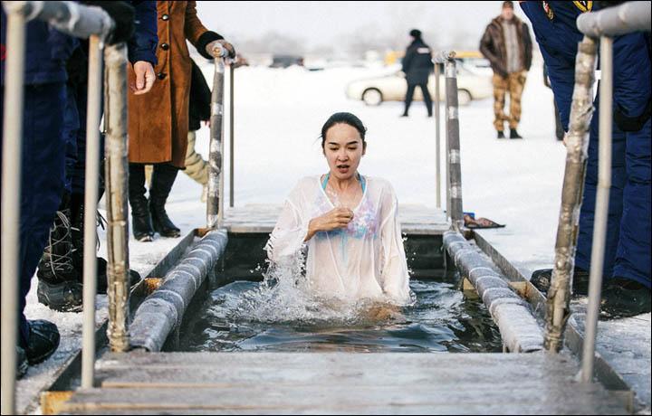 Как правильно окунуться на крещение