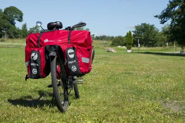 Велорюкзаки на багажник