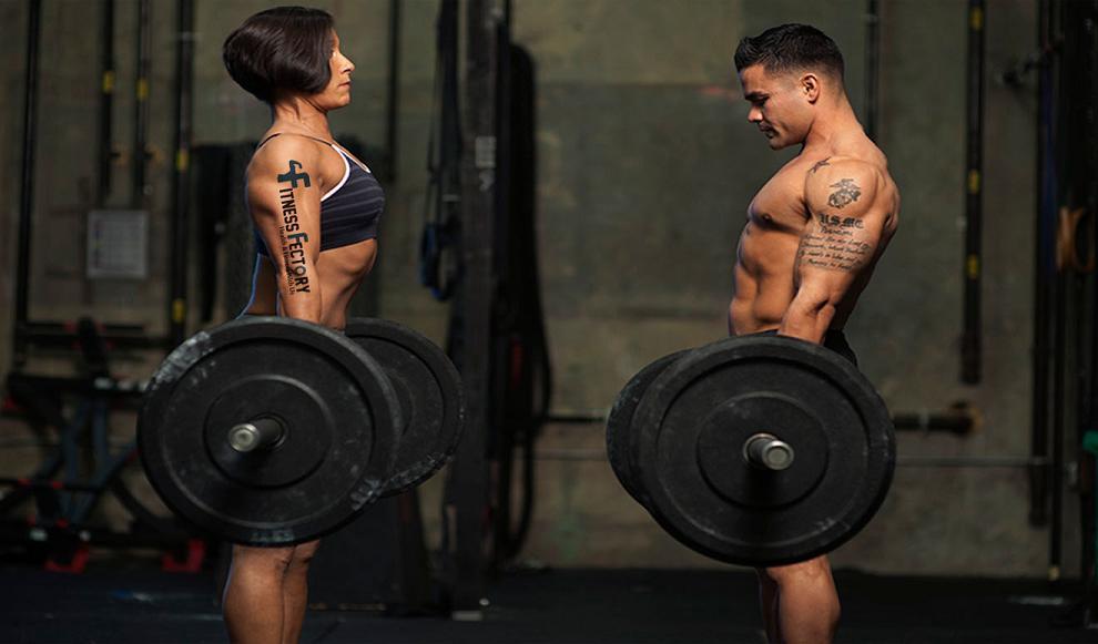 Ошибочный выбор веса для тренировок