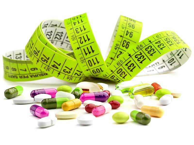 Похудение с помощью таблеток