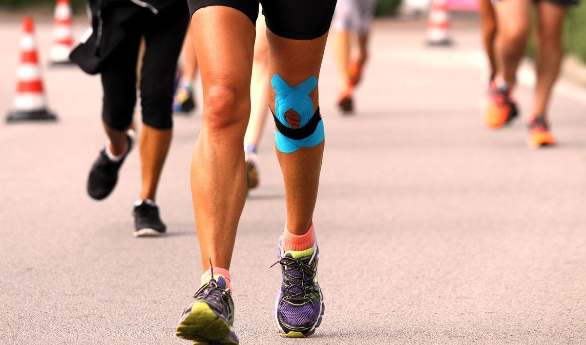 Боли в коленях у спортcменов