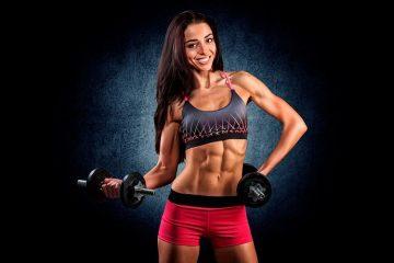 Сушка мышц для девушек