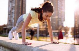 Физические упражнения для увеличения бюста