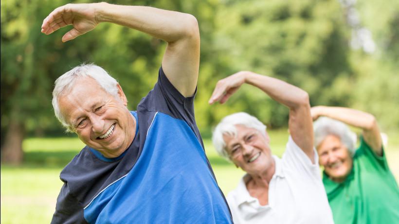 Здоровье, долголетие, тренировки – связь очевидна!