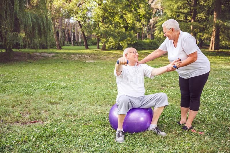 Здоровый образ жизни пенсионера