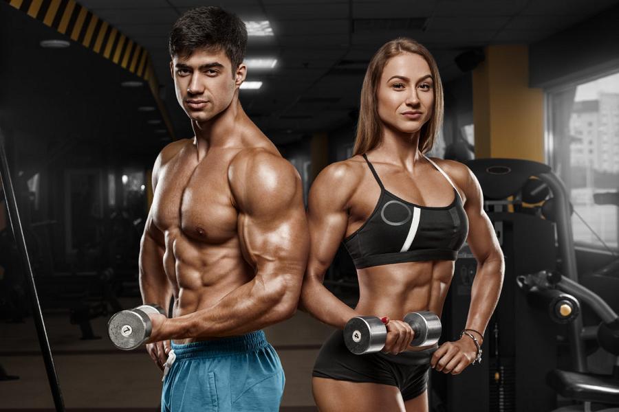 Правила набора мышечной массы для худых парней и девушек
