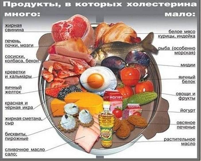 Снижение уровня холестерина путем правильного питания