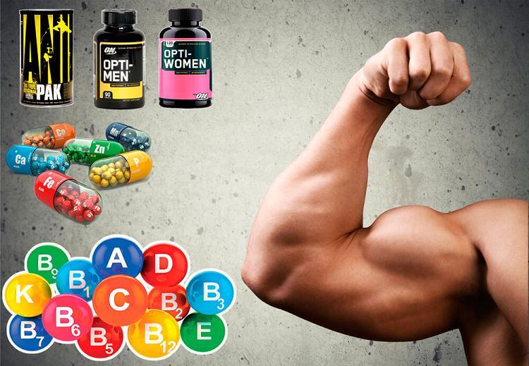 Витамины в жизни бодибилдера