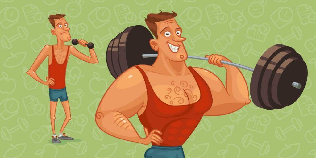 Как набрать вес и увеличить мышечную массу