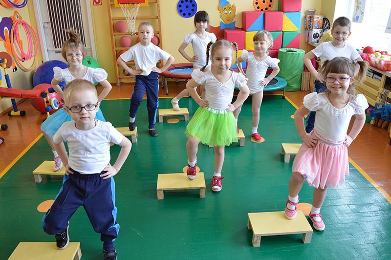 Детский фитнес — это польза и здоровье