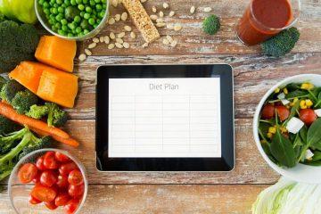 Как правильно составить план питания