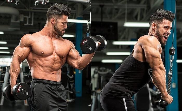 Тренировки суперсетами для набора мышечной массы