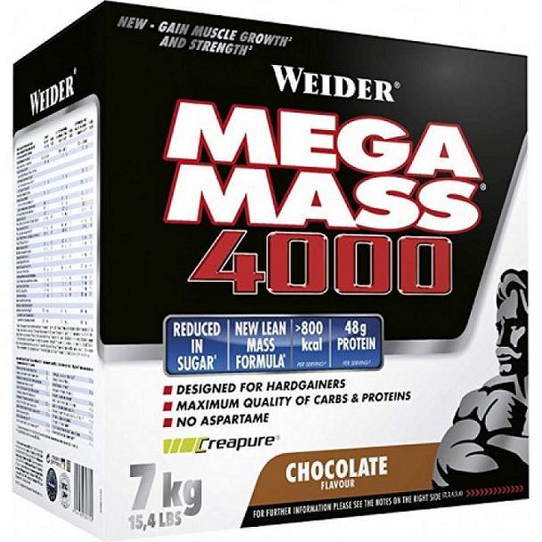 Mega Mass 4000 — спортивное питание для бодибилдеров. Отзывы о Mega Mass 4000