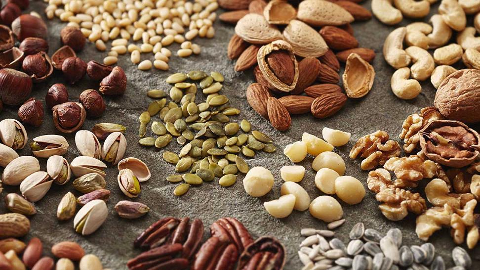 Семечки и орехи в бодибилдинге