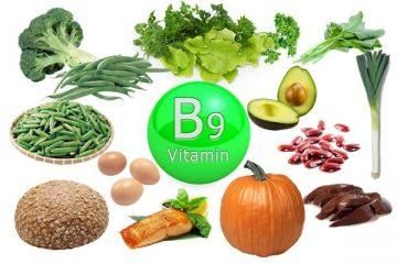 В каких продуктах содержится фолиевая кислота (витамин B9)