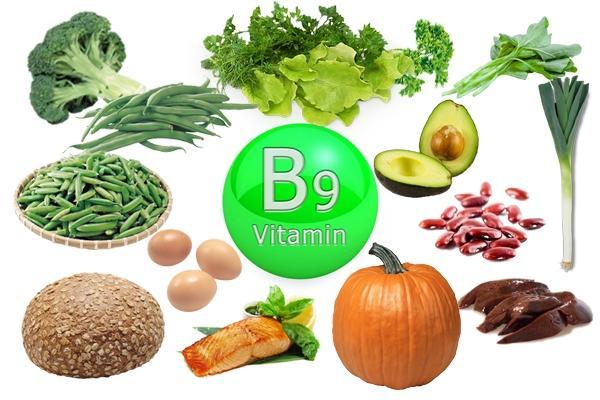 Фолиевая кислота (Витамин В9) – польза для организма