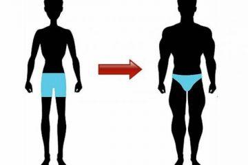 Как худому набрать вес