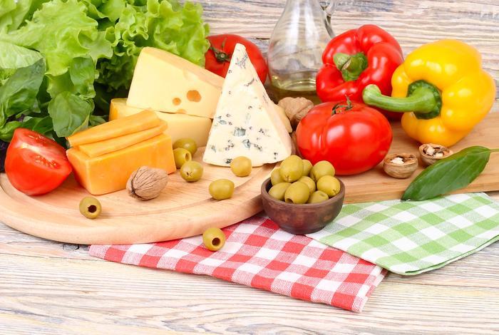 Сыры с овощами