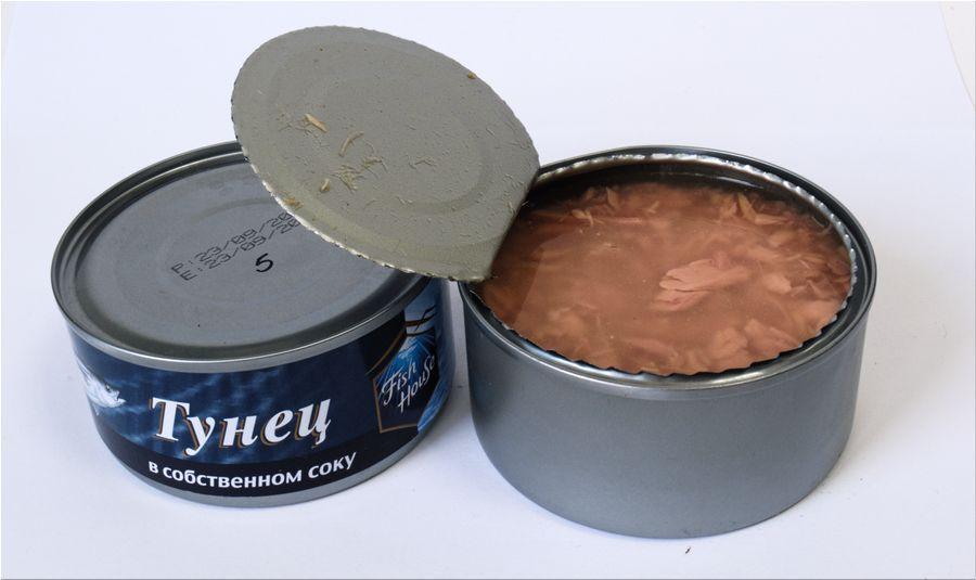 Консервы из тунца