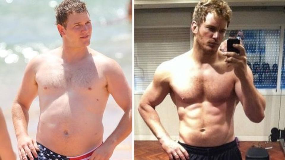 Как я быстро похудел. До и после