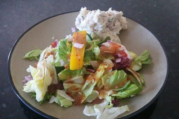 Салатная диета - Примерное меню салатной диеты