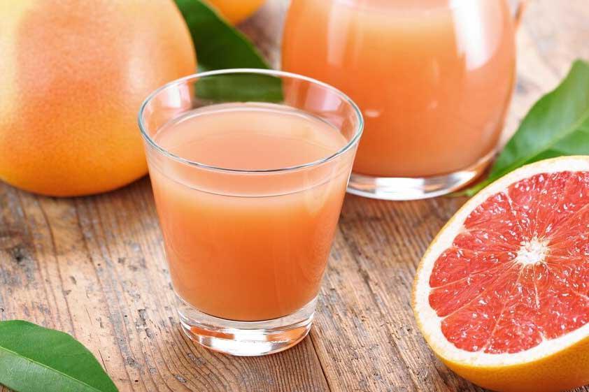Грейпфрутовый сок помогает похудеть