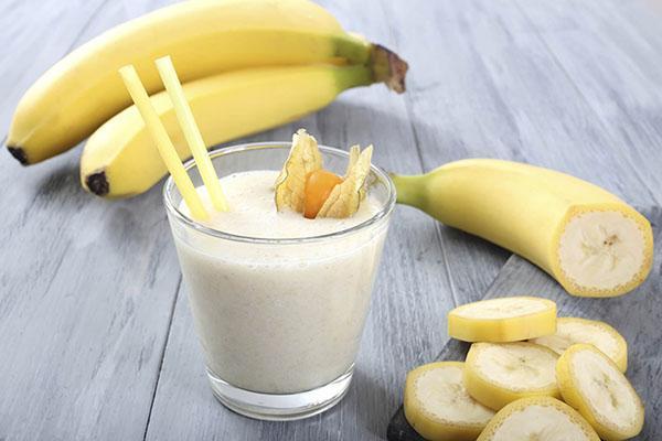 Бананово-молочная диета: Рацион, выбор бананов и молока