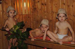 Баня для детей