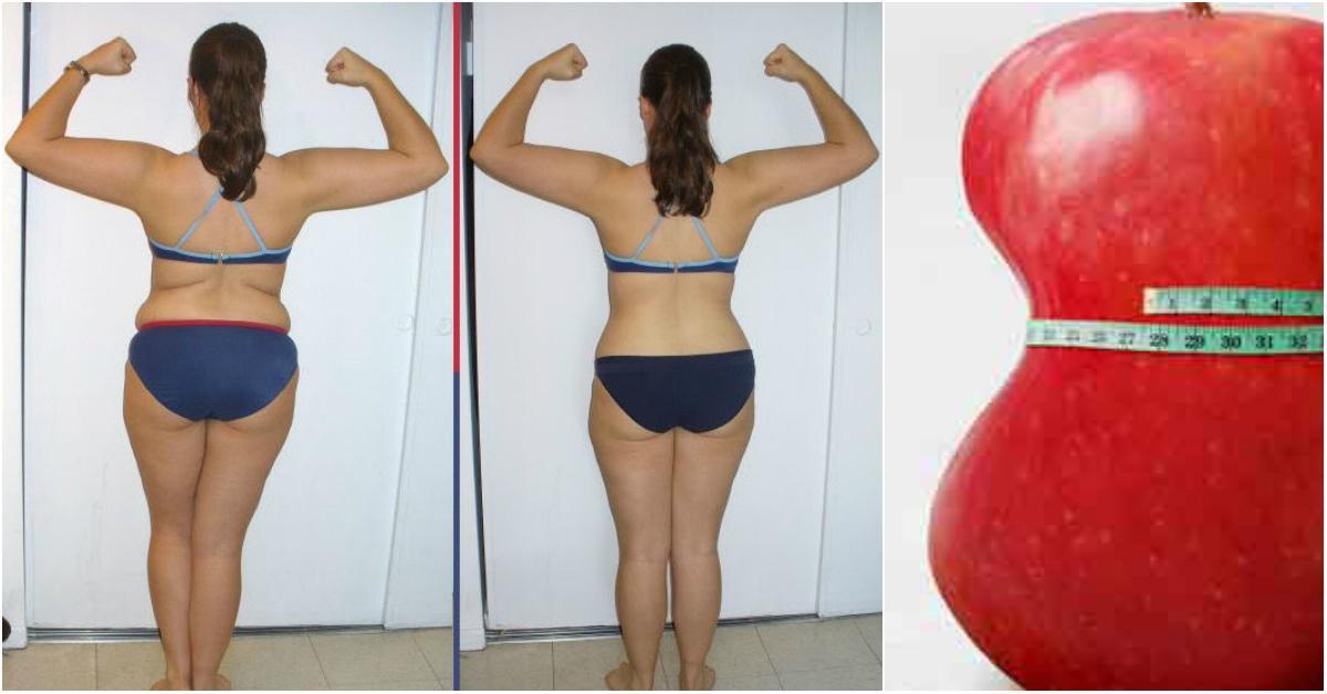 Как убрать жир со спины - питание