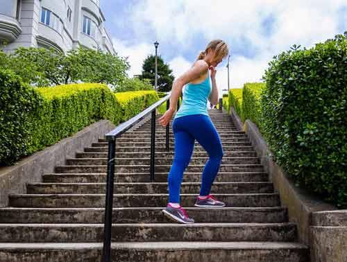 Как тренироваться новичкам на лестнице