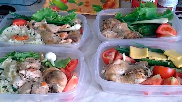 План питания для женщин и мужчин