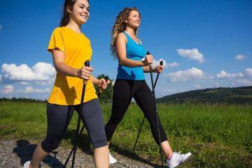 Скандинавская ходьба - увлекательная техника для похудения