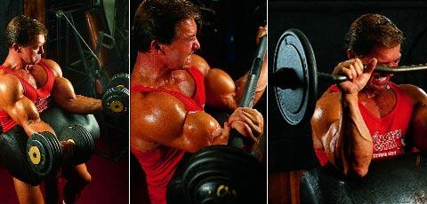 Упражнения для бицепсов от Ларри Скотта