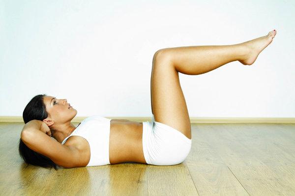 Упражнения для ног от целлюлита